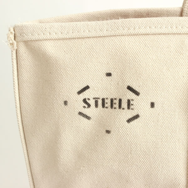 STEELE NATURAL CANVAS TOTEBAG Small