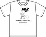 <img class='new_mark_img1' src='https://img.shop-pro.jp/img/new/icons1.gif' style='border:none;display:inline;margin:0px;padding:0px;width:auto;' />GO TO THE HERO SHOW! Tシャツ 大人用 mono