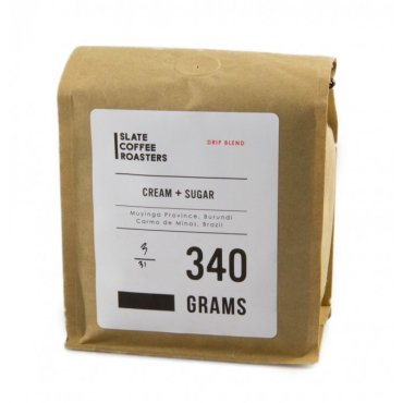 Slate Coffee Roasters Cream and Sugar Drip Coffee Blend