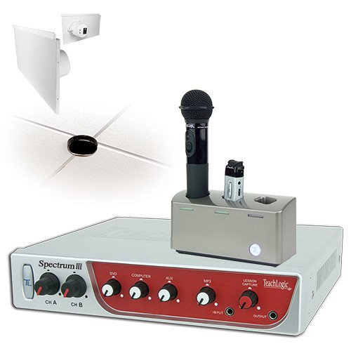 ティーチロジック TeachLogic IRS-8650 Spectrum III Infrared Wireless Classroom Microphone System