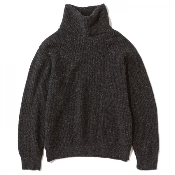 .efiLevol(エフィレボル) / Loose Fitted Turtle Neck Knitted Pullover W(ルーズフィットタートルネックニットプルオーバー)