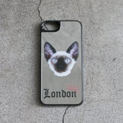 LAMINA / CANVER classic×LAMINA EFILEVOL London Cat ミラーハードケースB