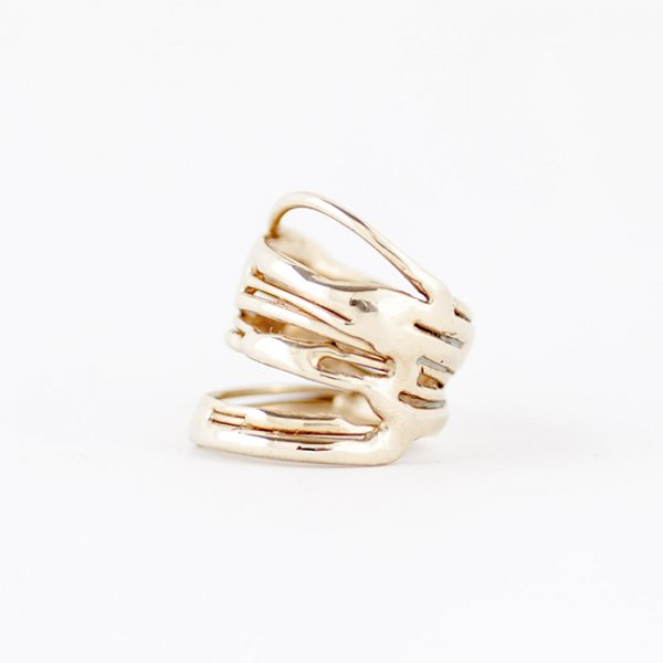 SASAI<br /> Muck ring in Brass