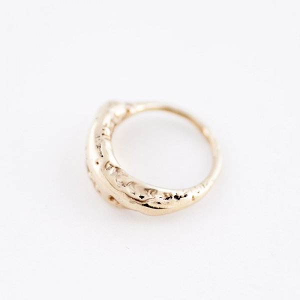 SASAI<br /> Junk ring in Brass