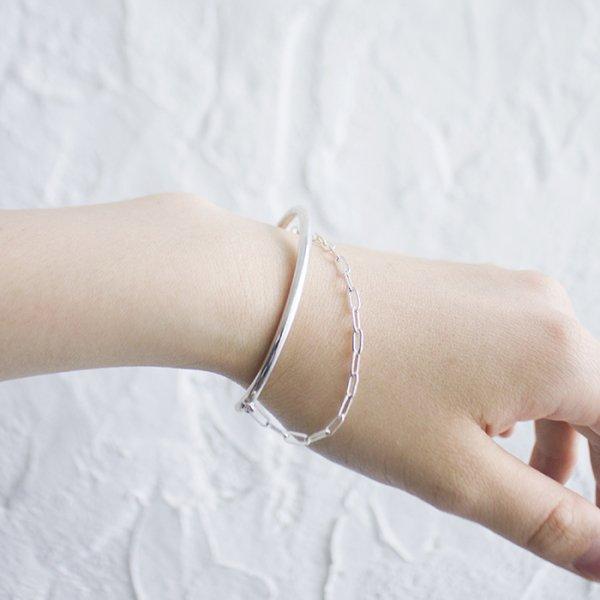 SASAI(ササイ) / Chain cuff in Silver