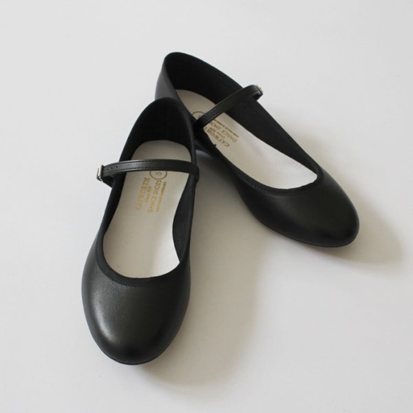 CATWORTH<br /> Opera Pumps W/Strap / Leather Sole ITALIAN CALF