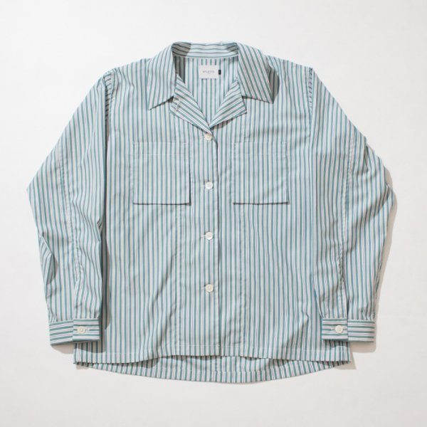<img class='new_mark_img1' src='//img.shop-pro.jp/img/new/icons20.gif' style='border:none;display:inline;margin:0px;padding:0px;width:auto;' />EFILEVOL<br />Striped Ewen Shirt