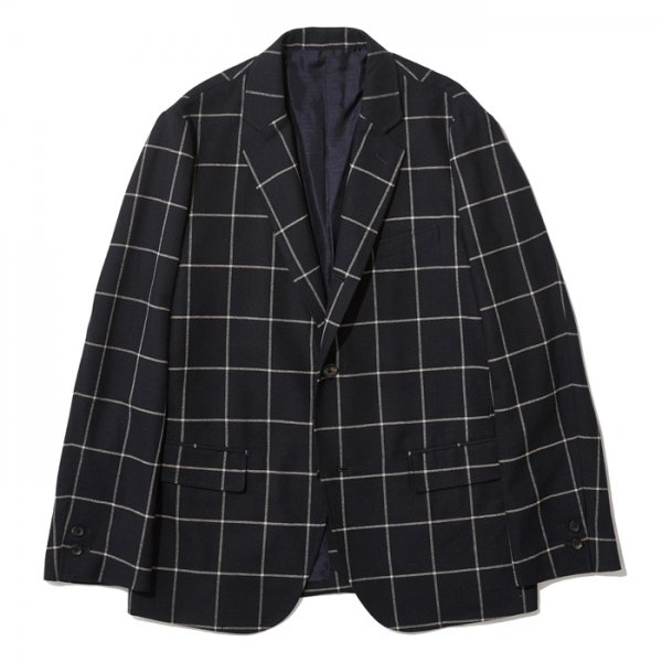 THE NERDYS <br /> SACK windowpane jacket