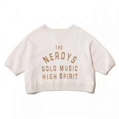 THE NERDYS <br />EMBROIDERY short sleeve sweat w