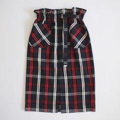 EFILEVOL エフィレボル<br />  Water  Resistant Checked  Easy Skirt ウォーターレジスタントチェックイージースカート
