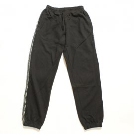 ADISH / ADISH X JORDAN NASSAR MIX EMBROIDERIES SWEATPANTS- BLACK