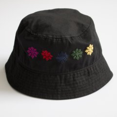 ADISH /ADISH X JORDAN NASSAR BUCKET HAT FLOWERS