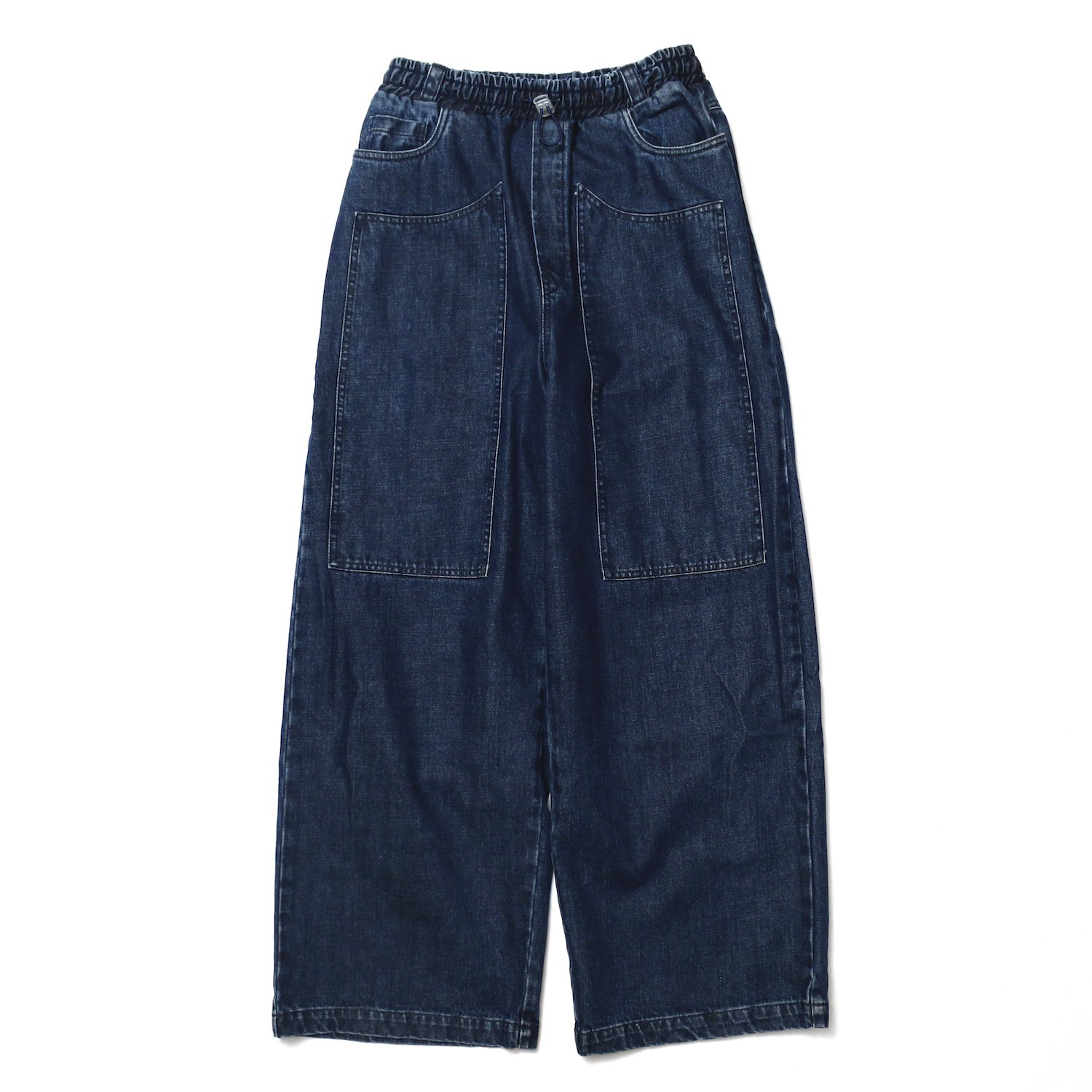 <img class='new_mark_img1' src='//img.shop-pro.jp/img/new/icons8.gif' style='border:none;display:inline;margin:0px;padding:0px;width:auto;' />SUNNEI<br />FIT LOOSE ELASTIC PANTS W PATC