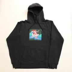 Parra  <br />  hooded sweater lagoon