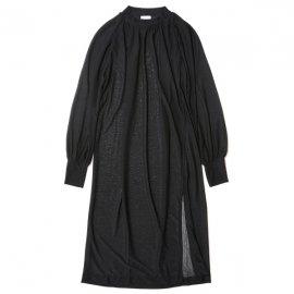 EFILEVOL エフィレボル <br />Plain Knited Raglan Sleeves Dress プレーンニットラグランスリーブドレス