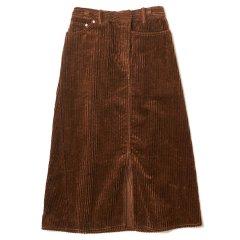 EFILEVOL エフィレボル <br />3W Corduroy Twisted Skirt 3W コーデュロイツイストスカート