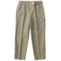 THE NERDYS ザ ナーディーズ<br /> TWO tuck cargo belt pants ツータックカーゴベルトパンツ