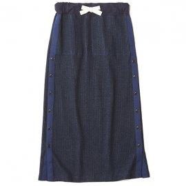 THE NERDYS ザ ナーディーズ <br /> MILITARY rib skirt ミリタリーリブスカート