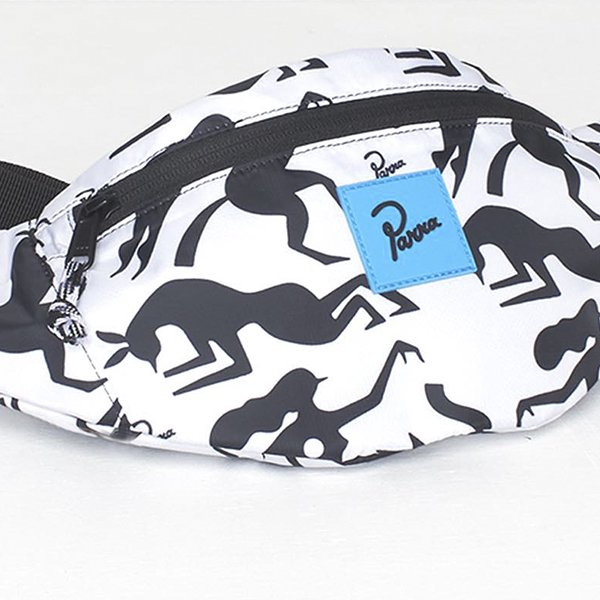 Parra パラ<br />waist pack workout woman horse ウエストパック ワークアウト ウーマンハウス