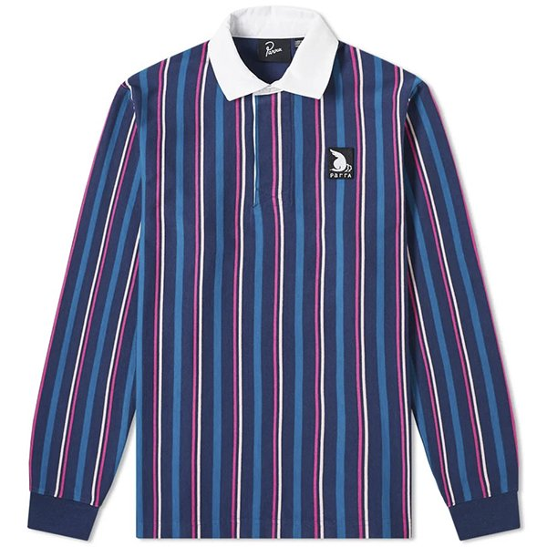 Parra パラ /  racing goose rugby shirt レーシング グース ラグビーシャツ