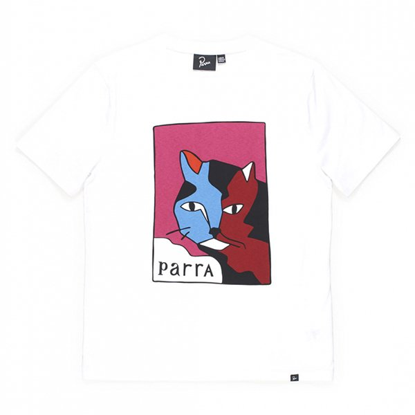 <img class='new_mark_img1' src='//img.shop-pro.jp/img/new/icons8.gif' style='border:none;display:inline;margin:0px;padding:0px;width:auto;' />Parra パラ /  earl the cat t-shirt