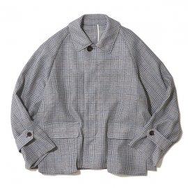 THE NERDYS / CHECK SHORT coat