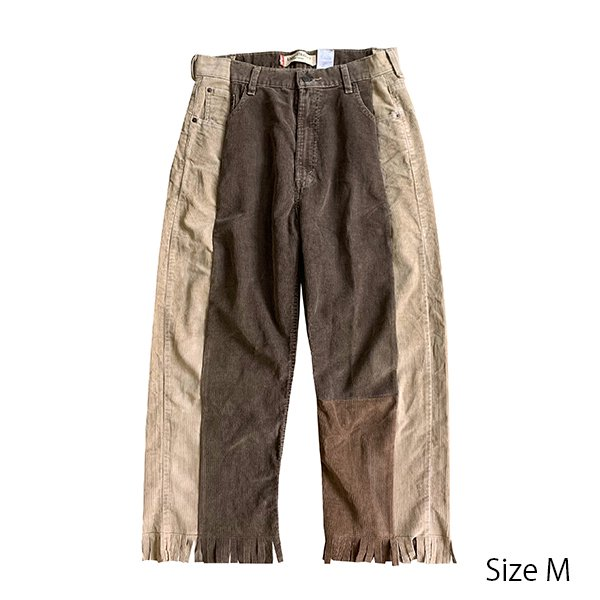 <img class='new_mark_img1' src='//img.shop-pro.jp/img/new/icons8.gif' style='border:none;display:inline;margin:0px;padding:0px;width:auto;' />BIN × SOUNDS AWESOME / REMAKE corduroy pants
