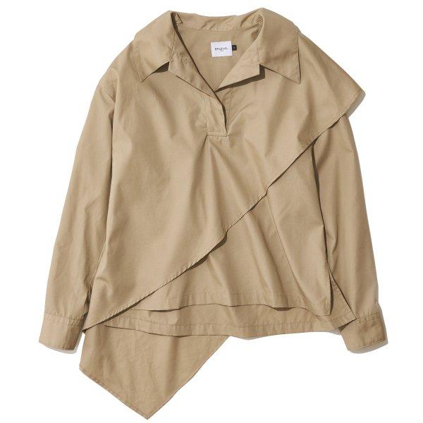EFILEVOL エフィレボル / Strenge Hem Layered Shirt