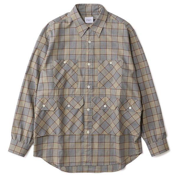 EFILEVOL エフィレボル / Checked Eddie Shirt