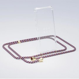<img class='new_mark_img1' src='https://img.shop-pro.jp/img/new/icons8.gif' style='border:none;display:inline;margin:0px;padding:0px;width:auto;' />XOUXOU / Basic Necklace - Bordeaux Camouflag - iPhone