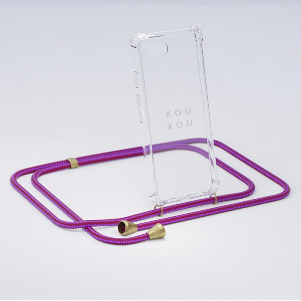 <img class='new_mark_img1' src='https://img.shop-pro.jp/img/new/icons8.gif' style='border:none;display:inline;margin:0px;padding:0px;width:auto;' />XOUXOU / Basic Necklace - Circus Pink - iPhone