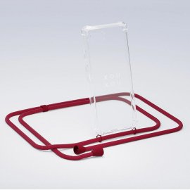 <img class='new_mark_img1' src='https://img.shop-pro.jp/img/new/icons8.gif' style='border:none;display:inline;margin:0px;padding:0px;width:auto;' />XOUXOU / Basic Necklace - Riot Red - iPhone