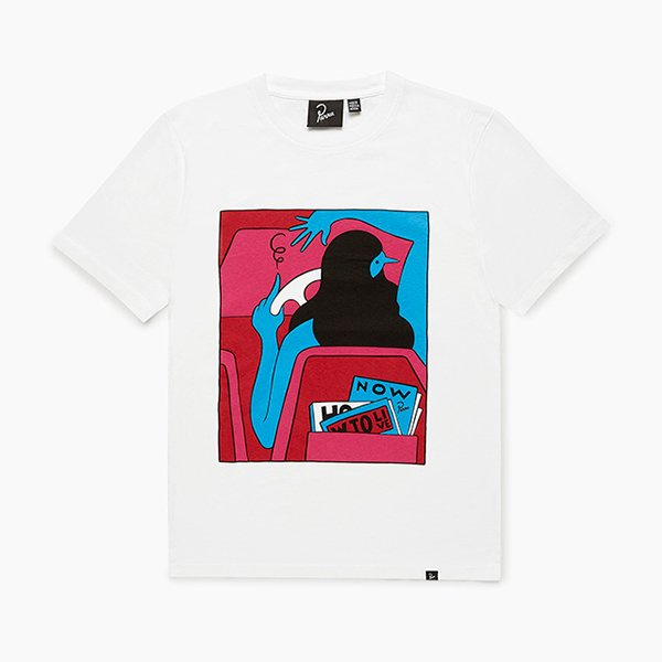 Parra パラ / how to live now t-shirt