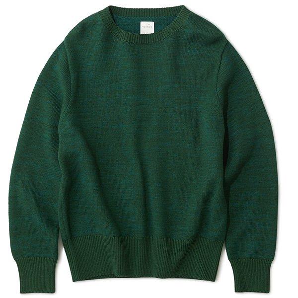 THE NERDYS ザ ナーディーズ / HARD cotton&wool knit sweat