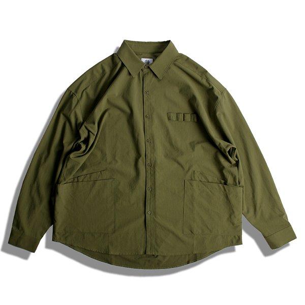 DARENIMO ダレニモ / wax O.X camp shirts L/S