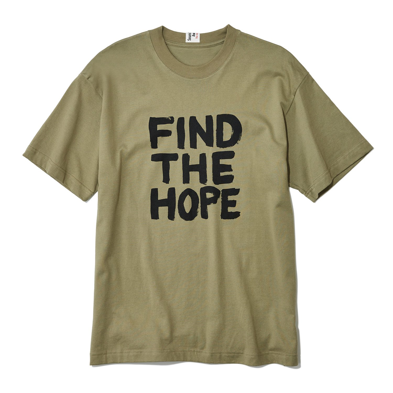<img class='new_mark_img1' src='https://img.shop-pro.jp/img/new/icons8.gif' style='border:none;display:inline;margin:0px;padding:0px;width:auto;' />SOUNDS AWESOME / FIND THE HOPE T-shirt