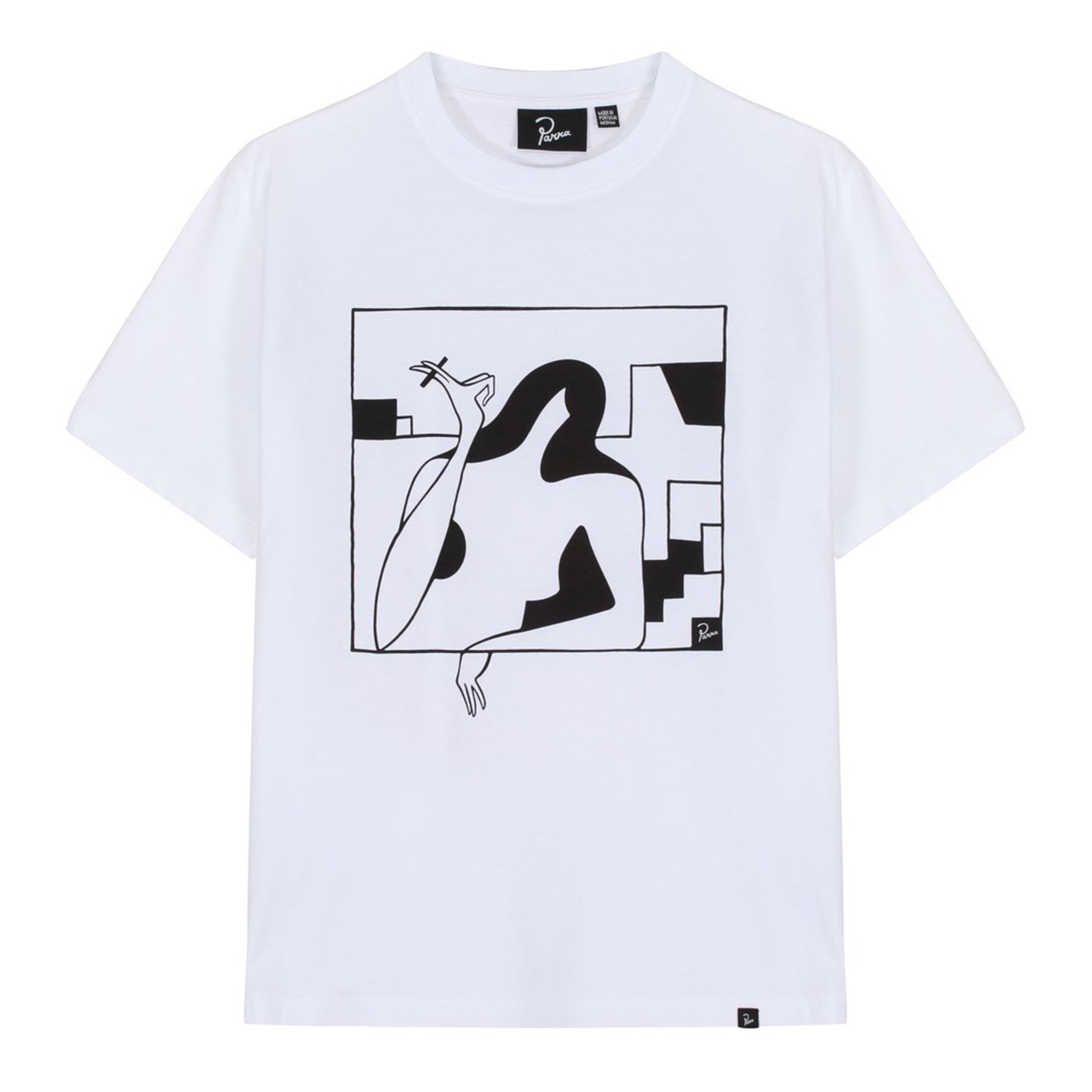 <img class='new_mark_img1' src='https://img.shop-pro.jp/img/new/icons8.gif' style='border:none;display:inline;margin:0px;padding:0px;width:auto;' />Parra パラ / lockdown t-shirt