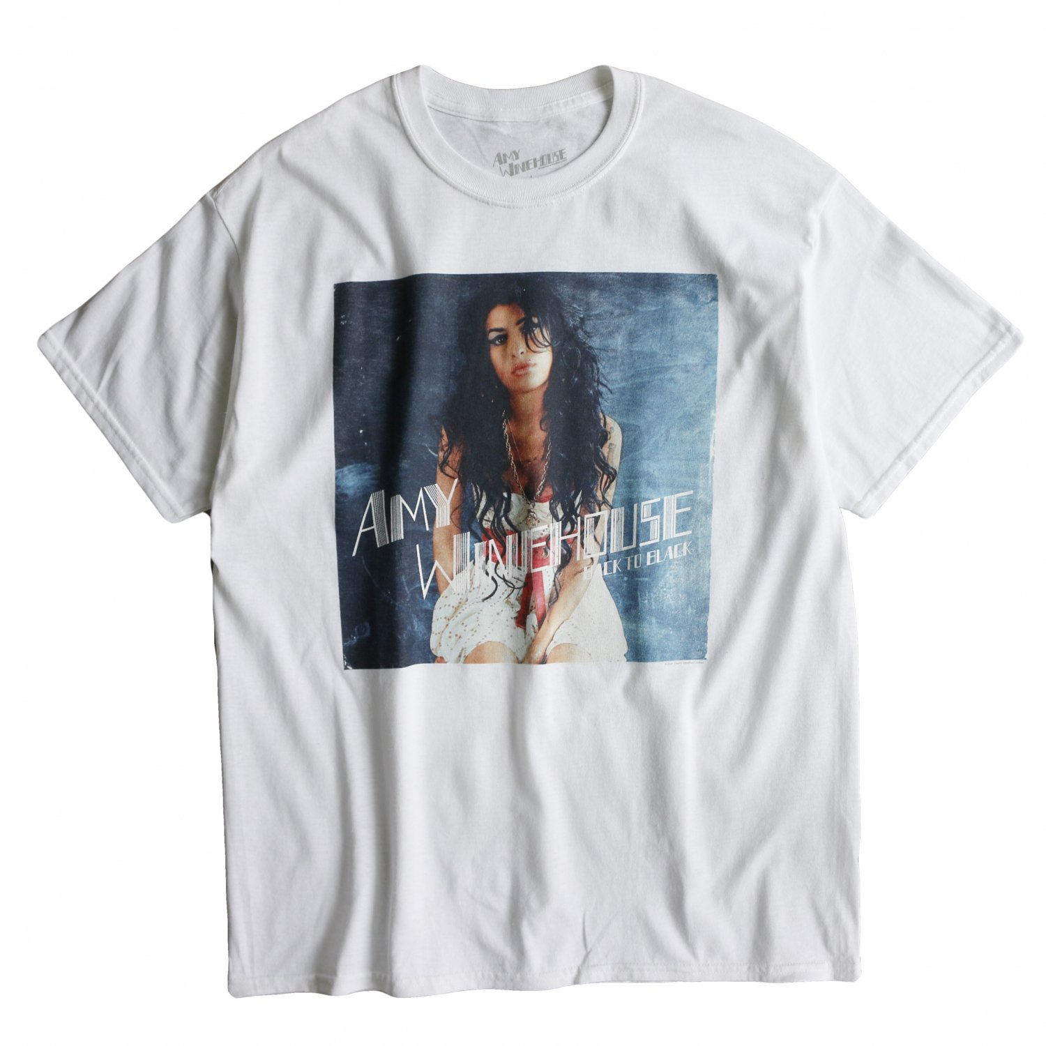 """<img class='new_mark_img1' src='https://img.shop-pro.jp/img/new/icons8.gif' style='border:none;display:inline;margin:0px;padding:0px;width:auto;' />Music Tee / S/S TEE AMY WINEHOUSE""""AMY"""""""