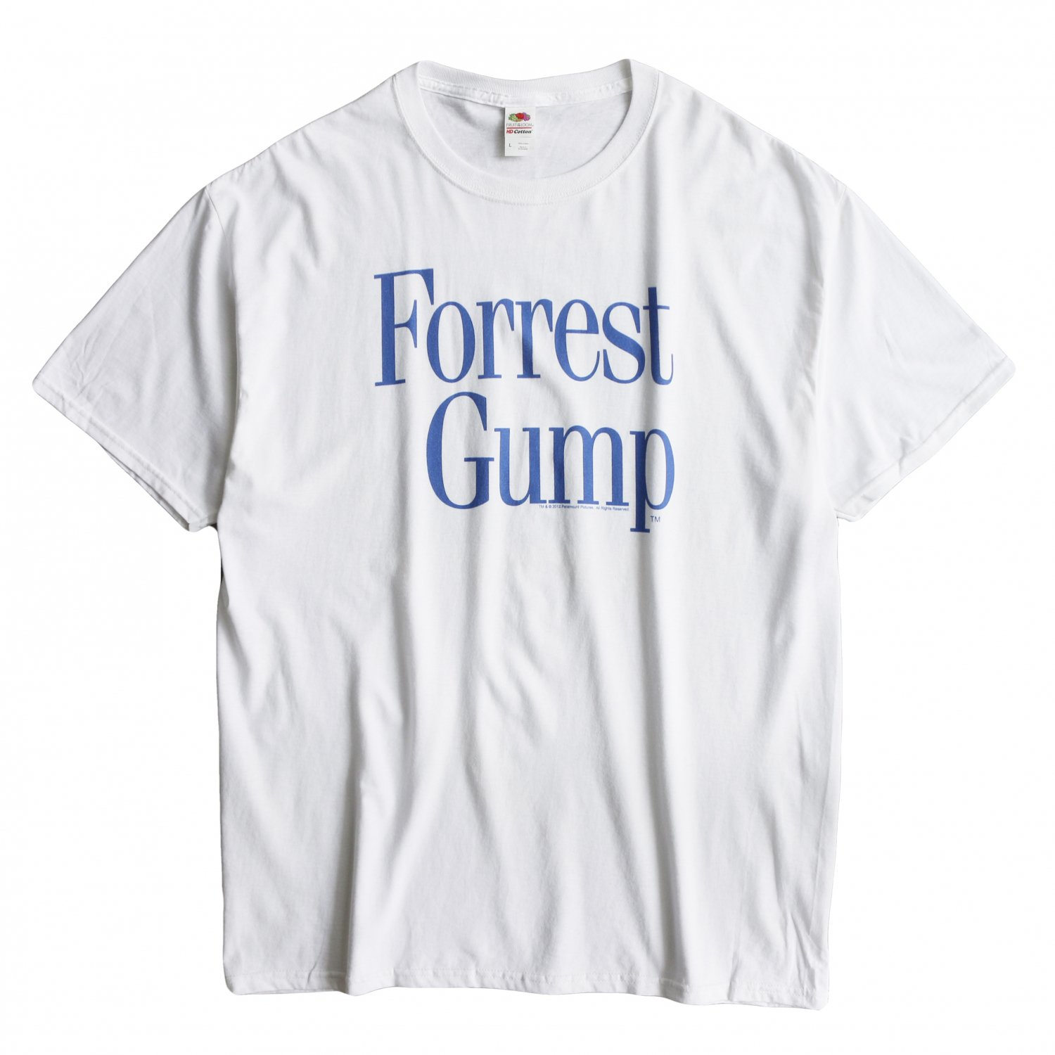 """<img class='new_mark_img1' src='https://img.shop-pro.jp/img/new/icons8.gif' style='border:none;display:inline;margin:0px;padding:0px;width:auto;' />Movie Tee / S/S TEE FORREST GUMP""""LOGO"""""""