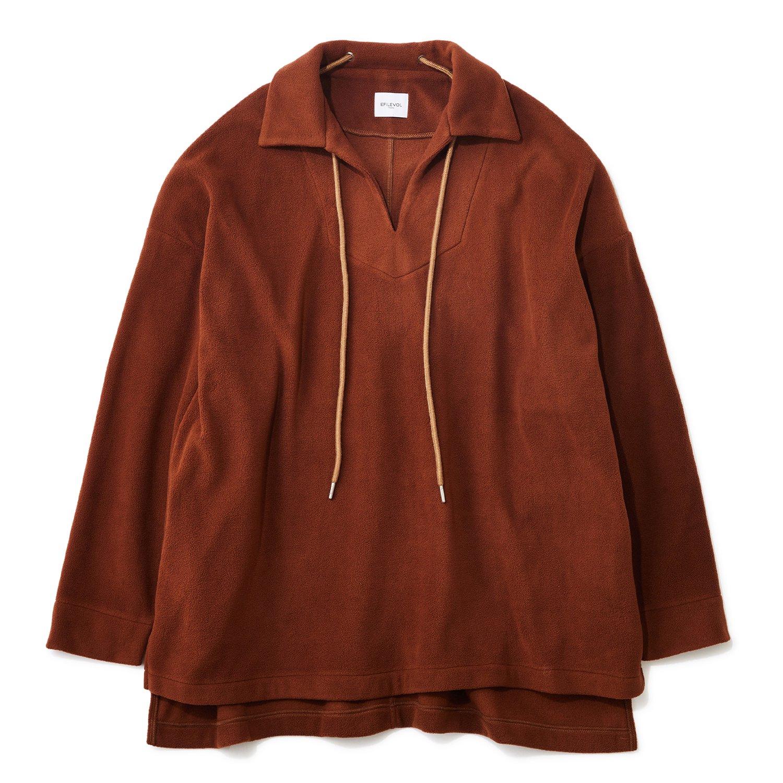 <img class='new_mark_img1' src='https://img.shop-pro.jp/img/new/icons8.gif' style='border:none;display:inline;margin:0px;padding:0px;width:auto;' />EFILEVOL / Fleece Skipper Shirt