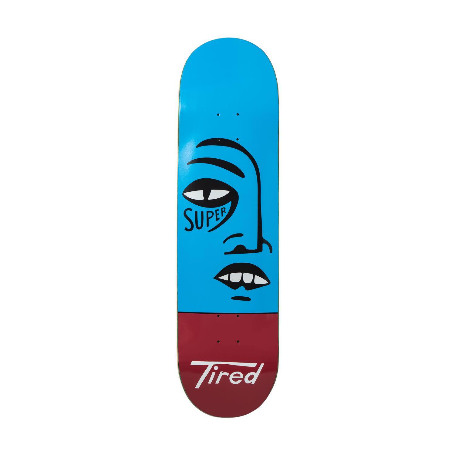 <img class='new_mark_img1' src='https://img.shop-pro.jp/img/new/icons8.gif' style='border:none;display:inline;margin:0px;padding:0px;width:auto;' />Tired タイレッド / SUPER TIRED SKATEBOARD/REGULAR