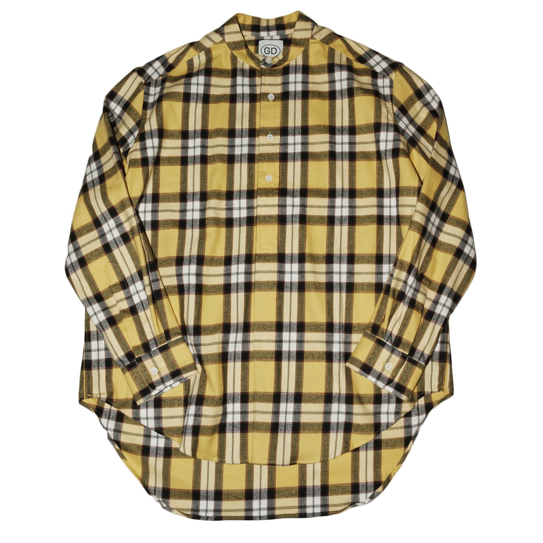 <img class='new_mark_img1' src='https://img.shop-pro.jp/img/new/icons8.gif' style='border:none;display:inline;margin:0px;padding:0px;width:auto;' />GD by James Mortimer / Irish Grandad Collar Shirts