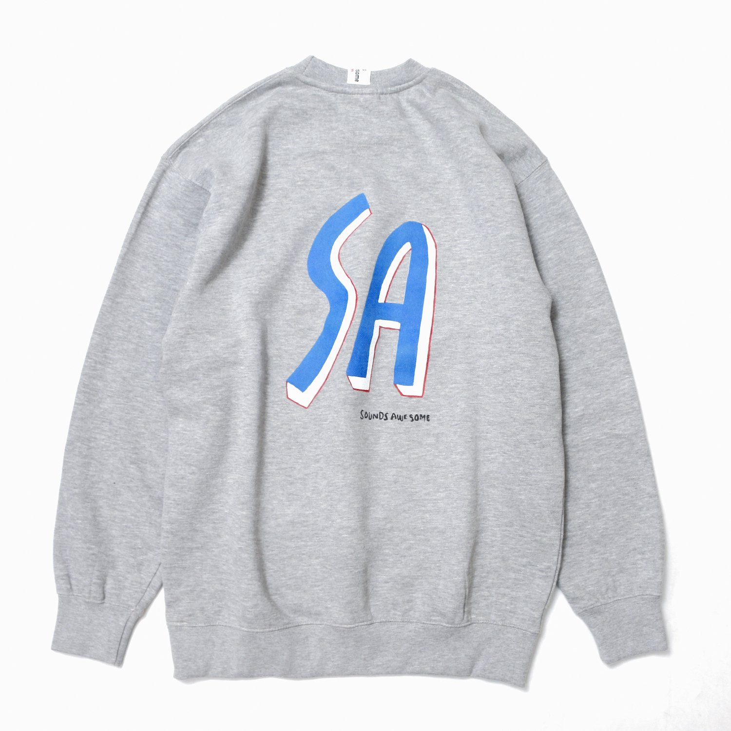<img class='new_mark_img1' src='https://img.shop-pro.jp/img/new/icons8.gif' style='border:none;display:inline;margin:0px;padding:0px;width:auto;' />SOUNDS AWESOME / SA Logo printed Sweat