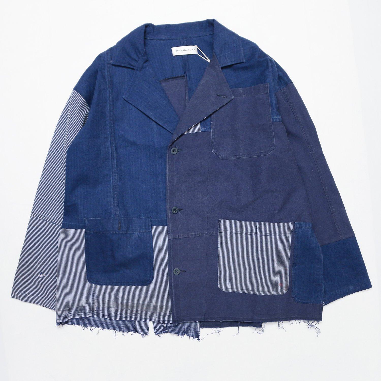 <img class='new_mark_img1' src='https://img.shop-pro.jp/img/new/icons8.gif' style='border:none;display:inline;margin:0px;padding:0px;width:auto;' />Remake by Yi / Blazer Jacket (Vintage workwear)