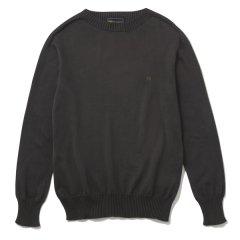 THE NERDYS(ナ−ディーズ) /  Cotton Crew Neck Sweater(コットンクルーネックセーター)