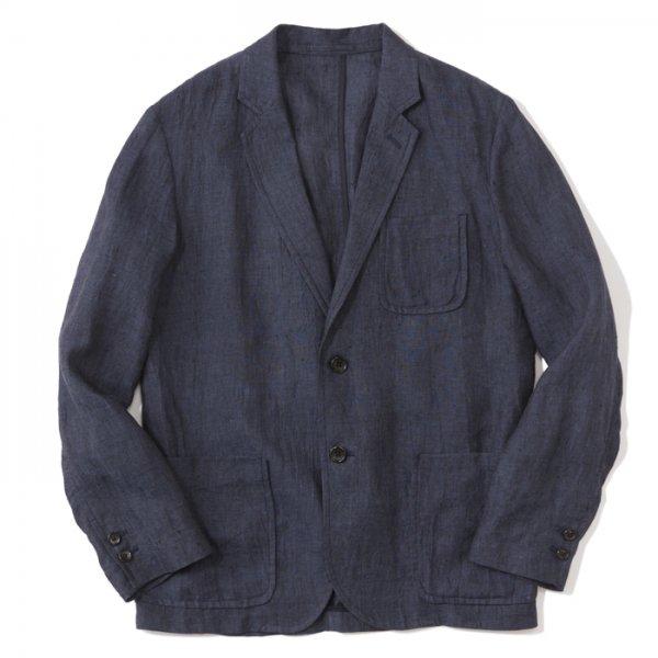 THE NERDYS(ナーディーズ) / SINGLE linen jacket(シングルリネンジャケット)