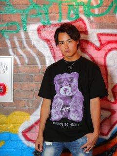 PLAYERSTOKYO パリピくまさん BIGTEE ユニセックス STREET  BLACK