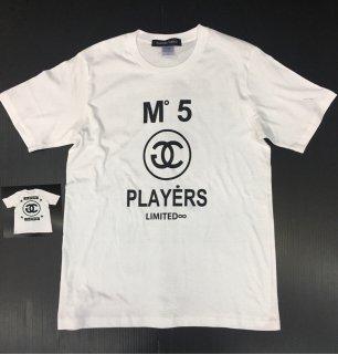 PLAYERSTシャツ3色 限定版 白色黒プリント