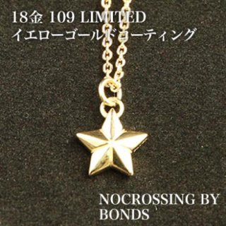 NOCROSSING SARリバーシブルネックレス 18Kイエロー&ピンクゴールド 109LIMITED