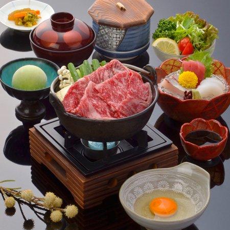 黒毛牛すき鍋膳